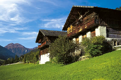 traditional Sout Tyrolean farmhouse