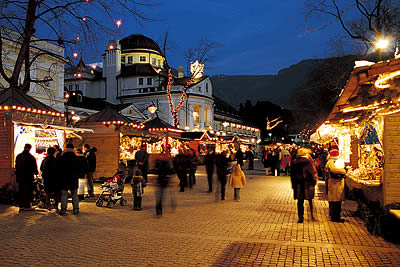 Christmas market in Merano